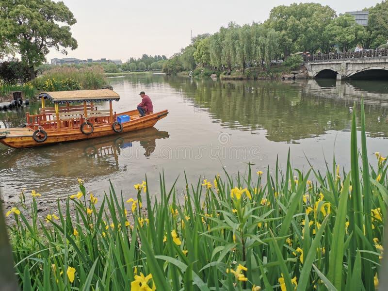 Fluss alter Fee Shanghais stockfotos