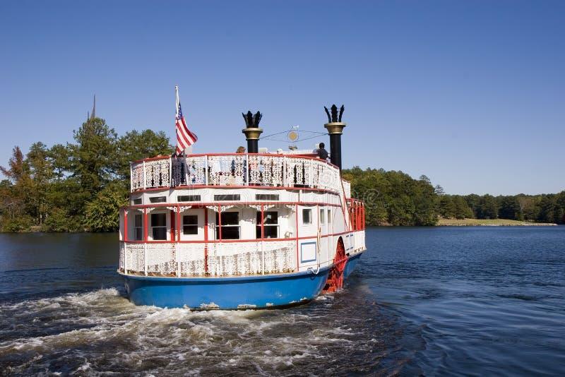 Fluss-Boot lizenzfreies stockbild