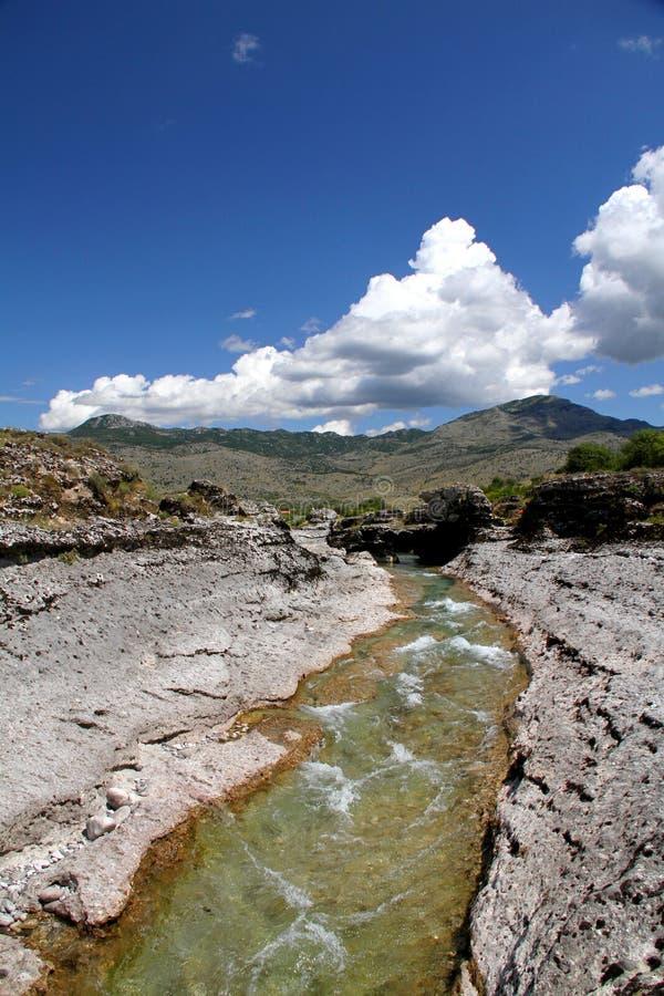 Fluss Cijevna lizenzfreies stockfoto
