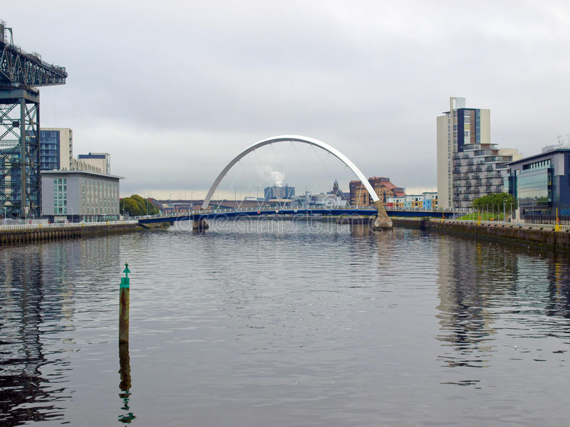 Fluss Clyde lizenzfreies stockbild