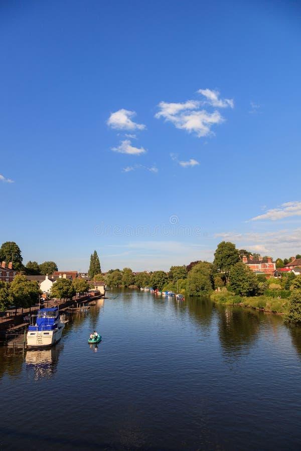 Fluss Dee Chester stockbilder