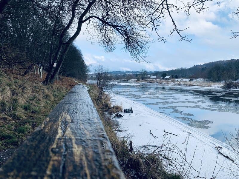 Fluss Dee stockbild