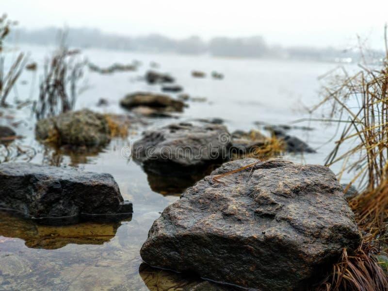 Fluss Dnipro stockbild