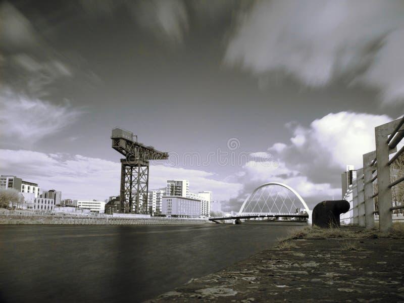 Fluss Glasgow-Clyde stockfotos