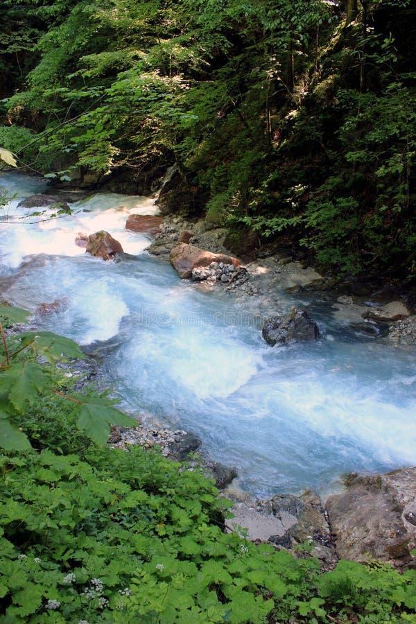 Fluss im Bayern, Deutschland stockfotos