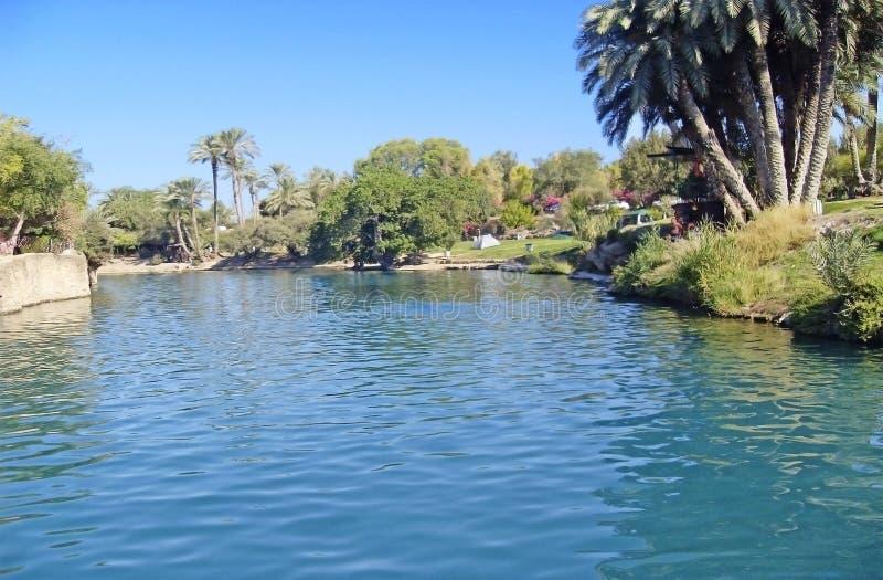 Fluss Jordanien stockfoto