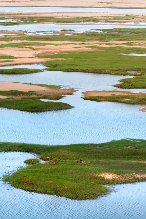 Fluss Krishna lizenzfreies stockfoto