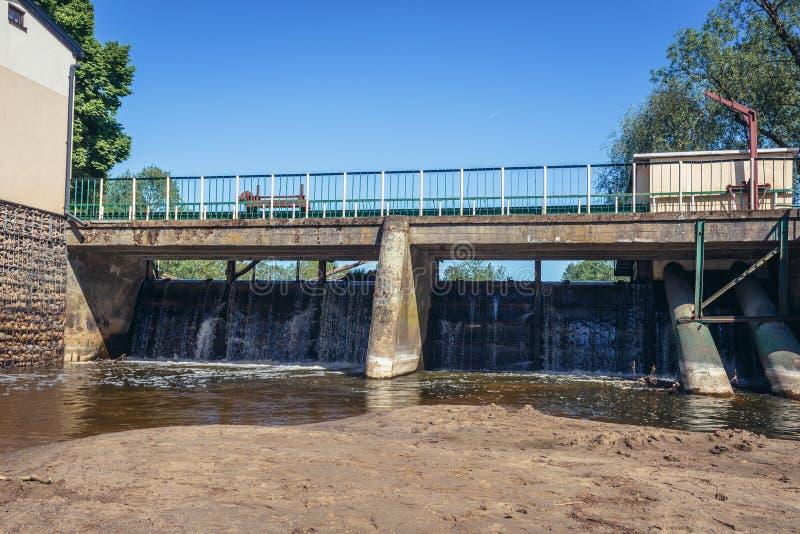 Fluss Liwiec in Polen lizenzfreie stockfotografie