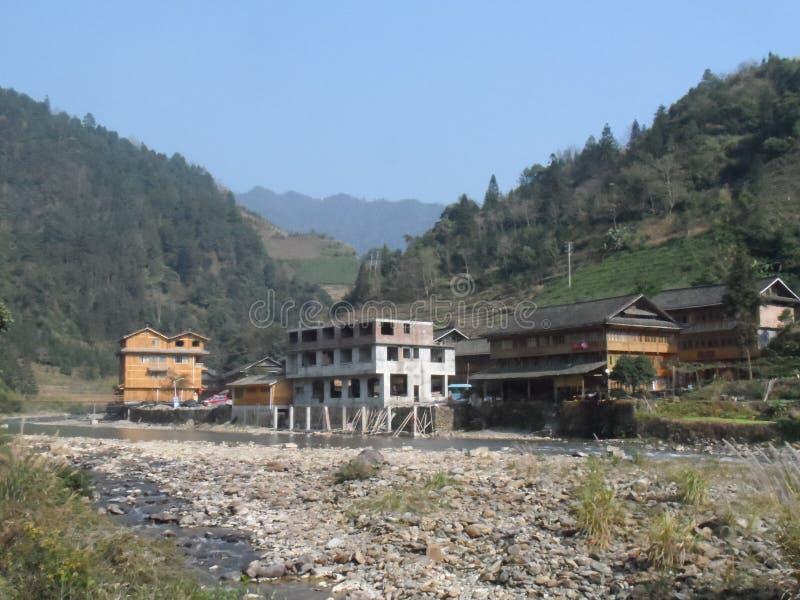Fluss panoramisch von China stockfotos