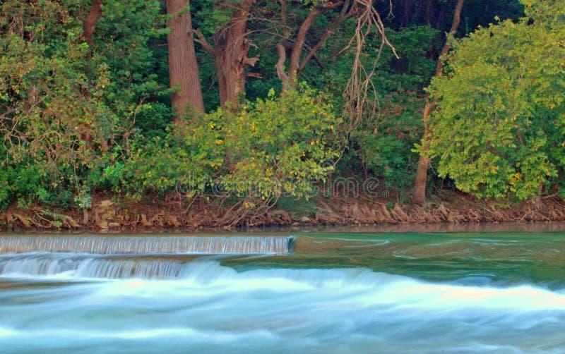 Fluss-Rutsche lizenzfreies stockfoto