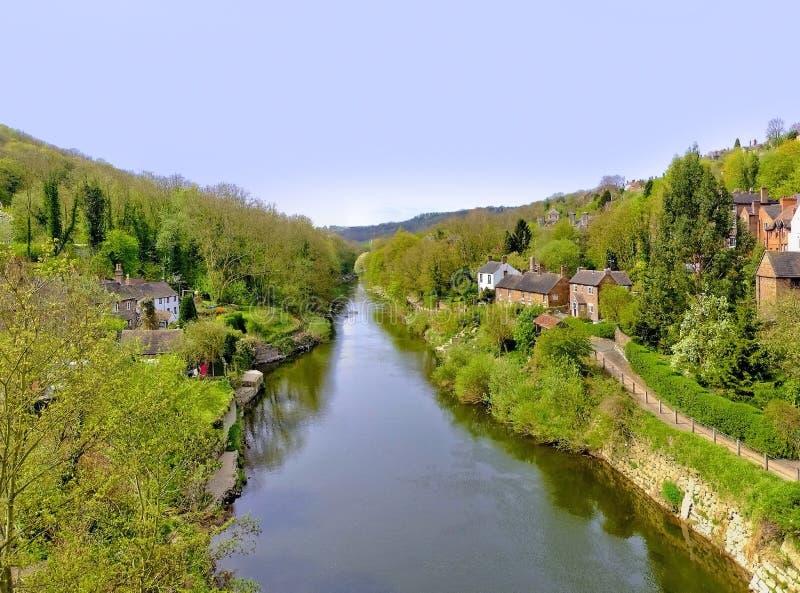 Fluss severn stockbilder