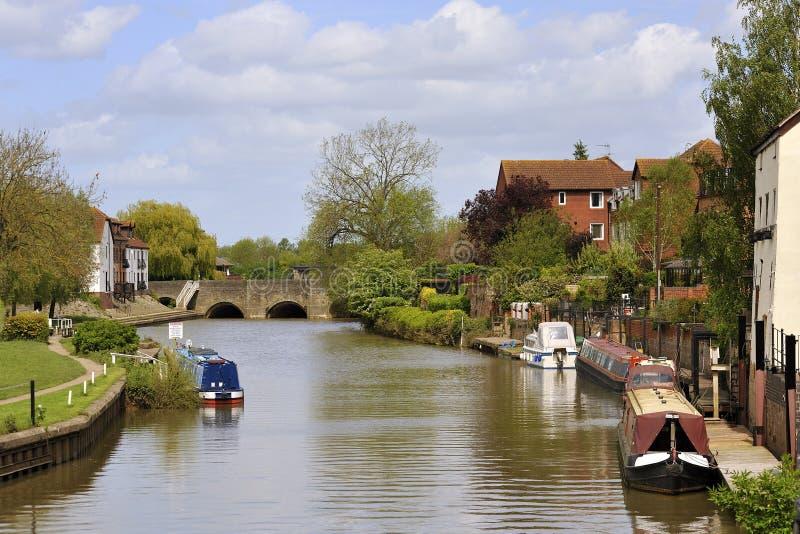 Fluss Severn, Tewkesbury lizenzfreie stockfotografie