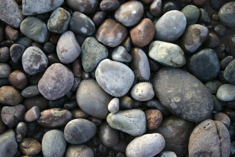 Fluss-Steine lizenzfreies stockbild