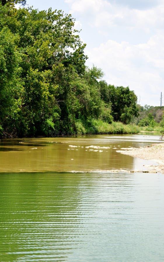 Fluss in Texas stockfoto