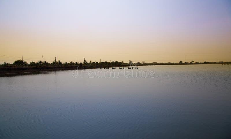 Fluss in thailändischem stockfotos