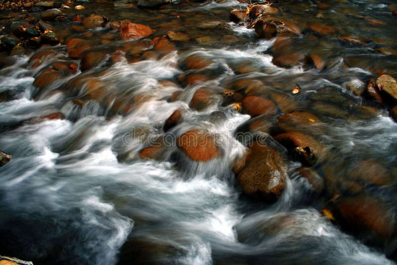 Fluss von Holz 3 stockfotos