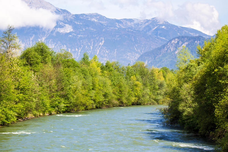 Fluss Ziller lizenzfreie stockbilder