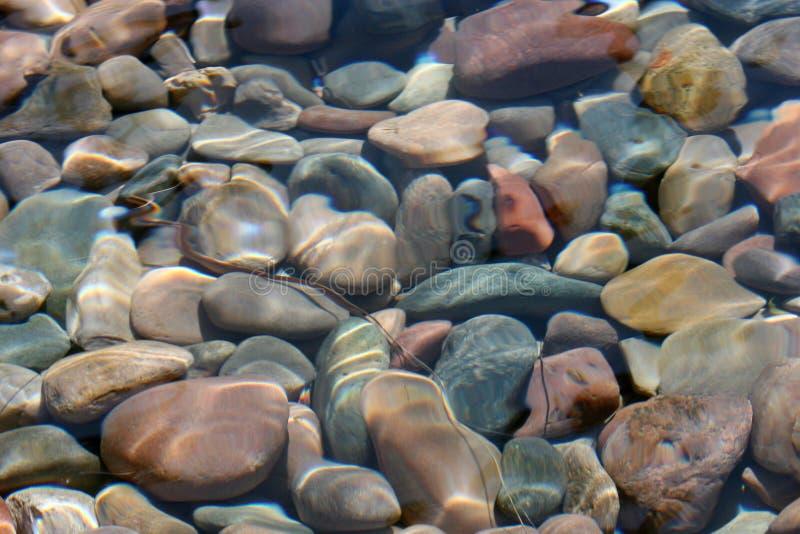 Flussfelsen stockbild