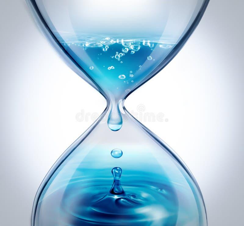 Flussi di tempo illustrazione vettoriale