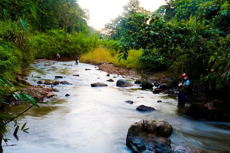 Flusso del fiume fotografia stock libera da diritti