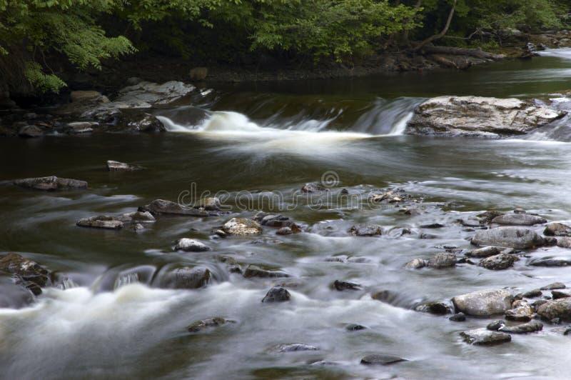 Flusso dell'acqua immagine stock