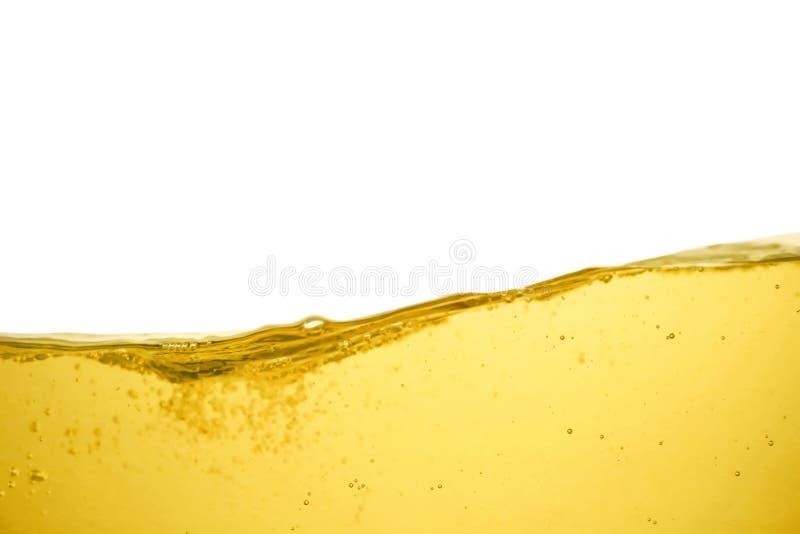 Flusso dell'olio su fondo bianco immagine stock libera da diritti