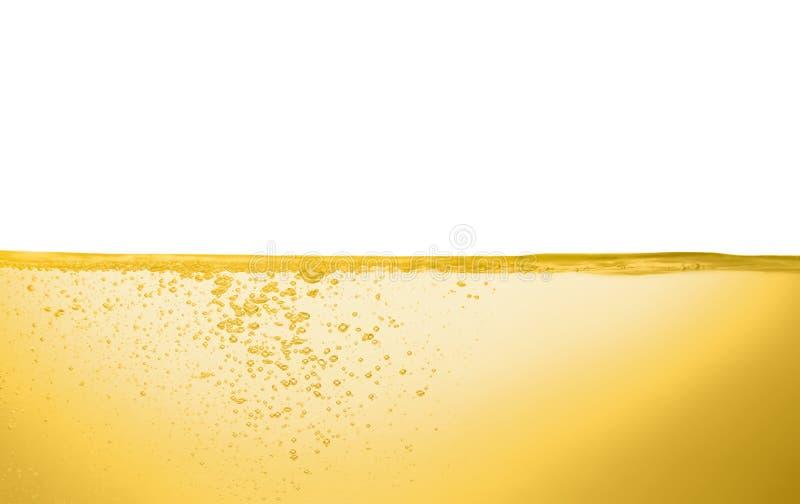 Flusso dell'olio su fondo bianco fotografie stock libere da diritti