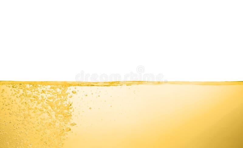 Flusso dell'olio su fondo bianco fotografia stock libera da diritti