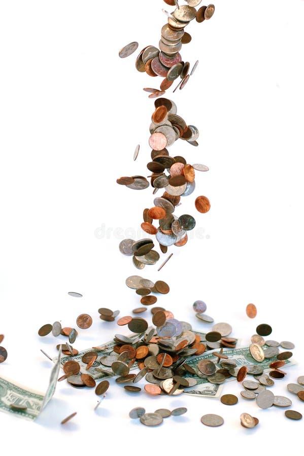 Flusso di denaro immagine stock
