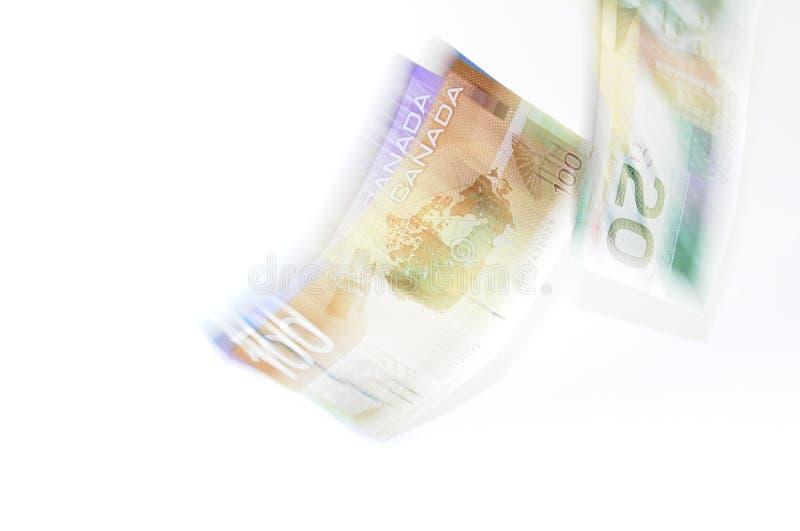 Flusso di denaro fotografie stock libere da diritti