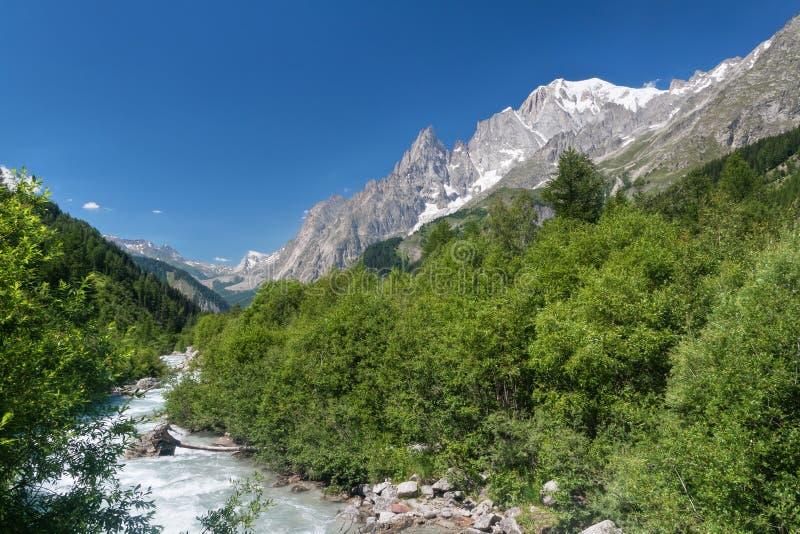 Flusso in valle del furetto fotografie stock