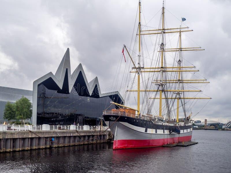 Flussufer-Museum in Glasgow Scotland stockfoto