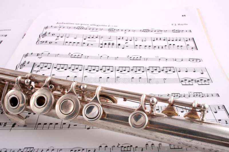 Flute 3 royalty free stock images