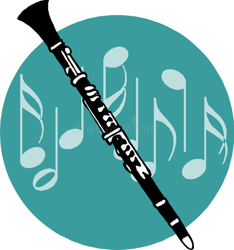 Download Flute stock vector. Illustration of caucasian, image, blow - 4239653