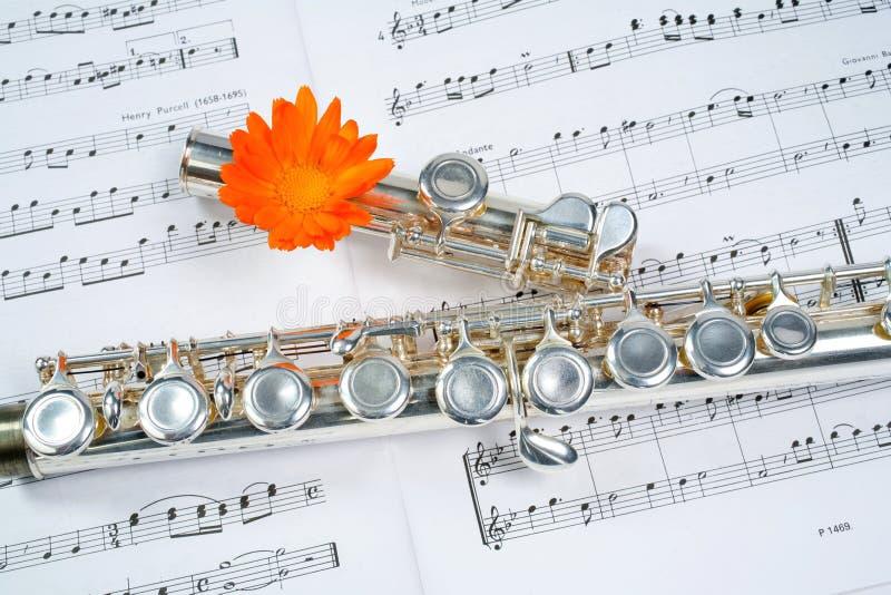 Flute between dots