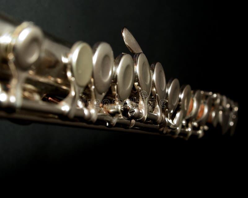 Download Flute Keys stock photo. Image of instrument, black, music - 5698