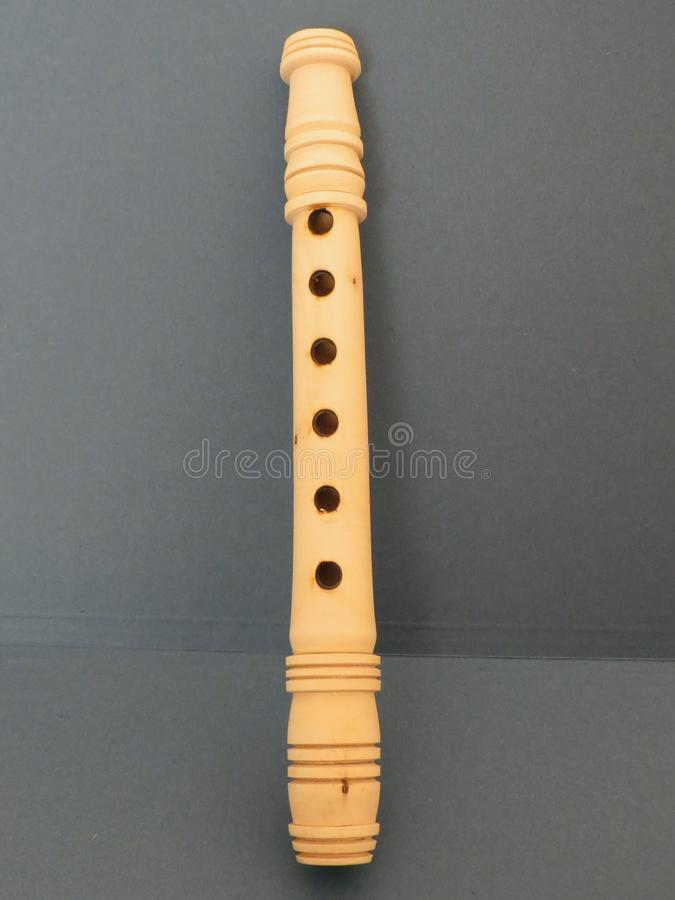 Flute recorder royalty free stock image