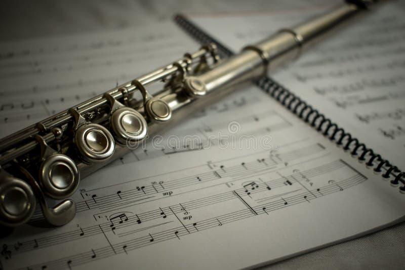 Flute 2 stock photo