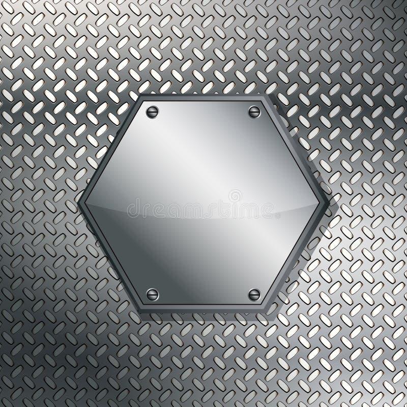 Fluted Metal Texture. Stock Photos