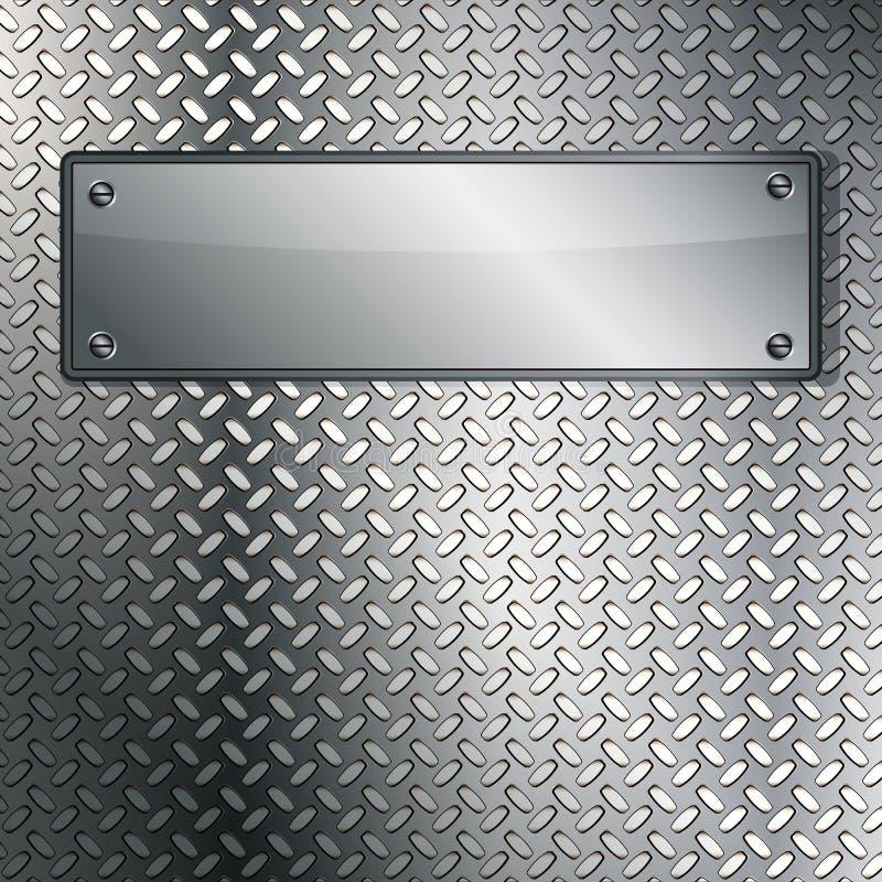 Fluted metal texture. Illustration for your design stock illustration