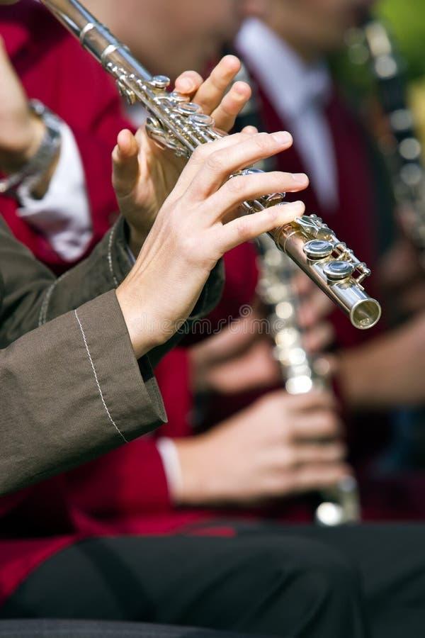 Flutist stockbilder