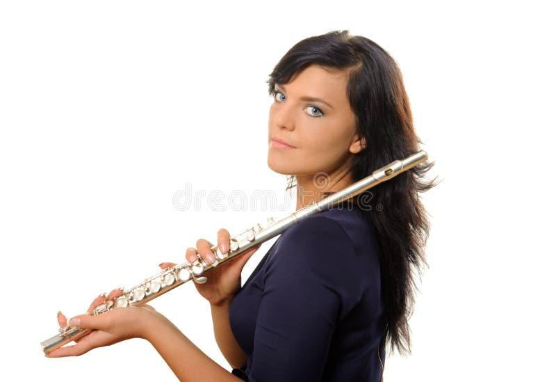 Flutist стоковая фотография