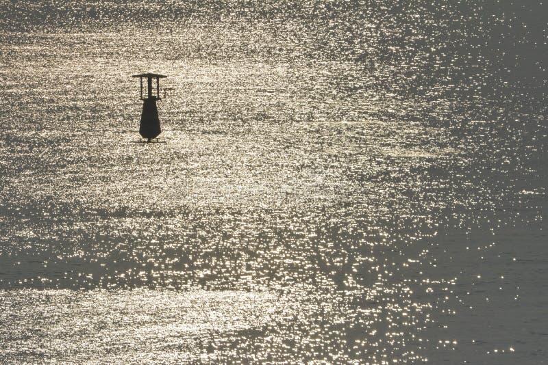 Flutuabilidade no mar fotografia de stock