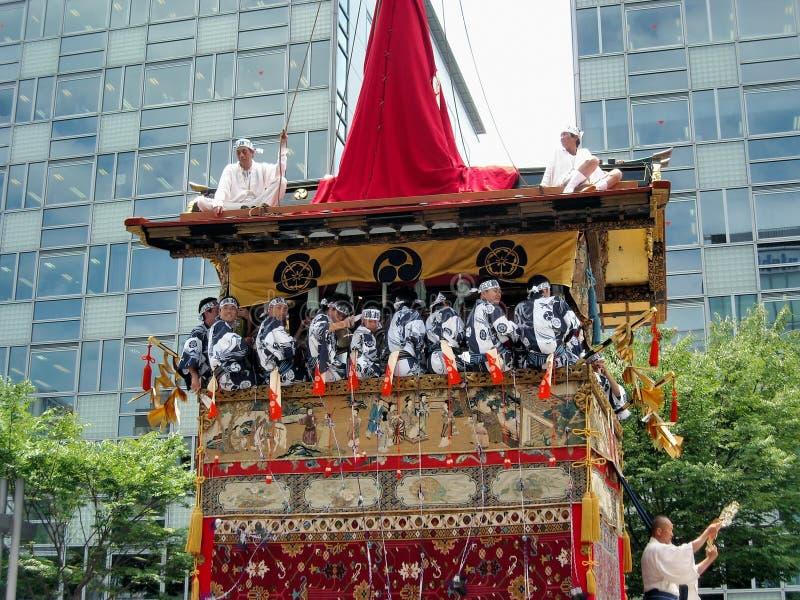 Flutuador de Gion Matsuri imagem de stock royalty free