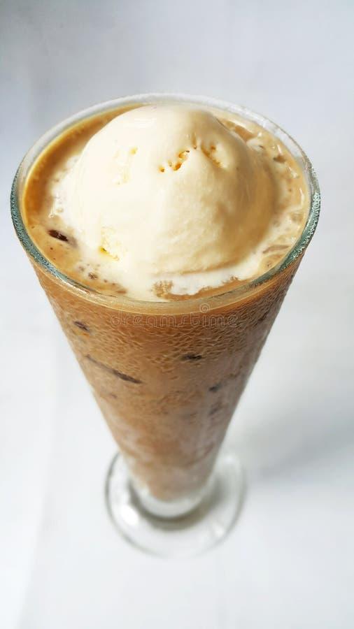 Flutuador do café de gelo imagens de stock royalty free