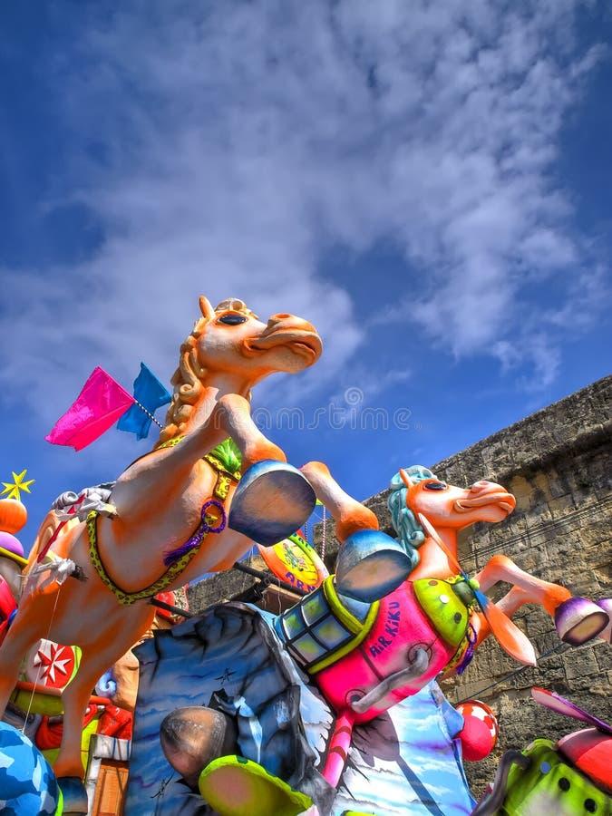 Flutuador do carnaval fotografia de stock royalty free