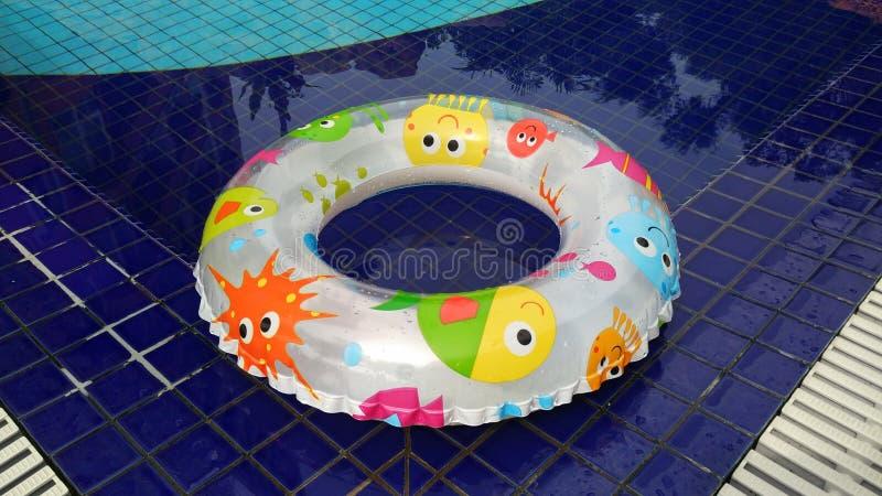Flutuador nadador foto de stock