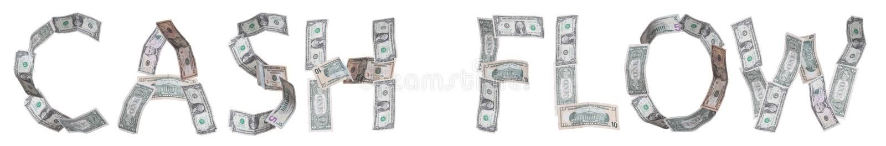 Flux de liquidités de financement illustration libre de droits