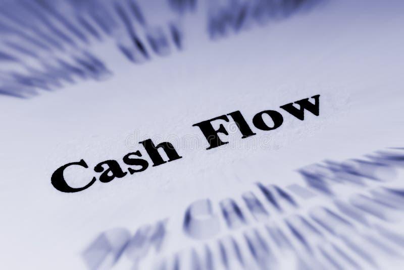 Flux de liquidités de financement photo libre de droits