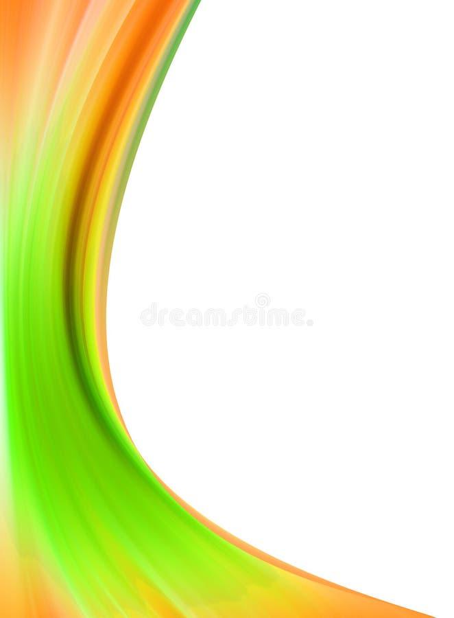 Fluxo abstrato ilustração stock